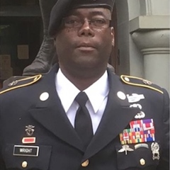 Papotia Reginald Wright, Green Beret… NOT!!