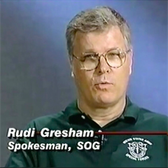 Rudi Gresham, Fake Green Beret for 30 plus years?
